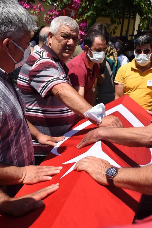 Muğla'da 'orman şehidi' törenle son yolculuğuna uğurlandı - 35