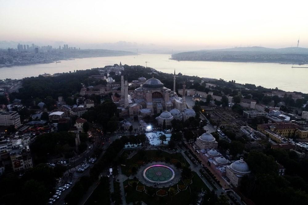 Crowd does not decrease in Hagia Sophia - 20