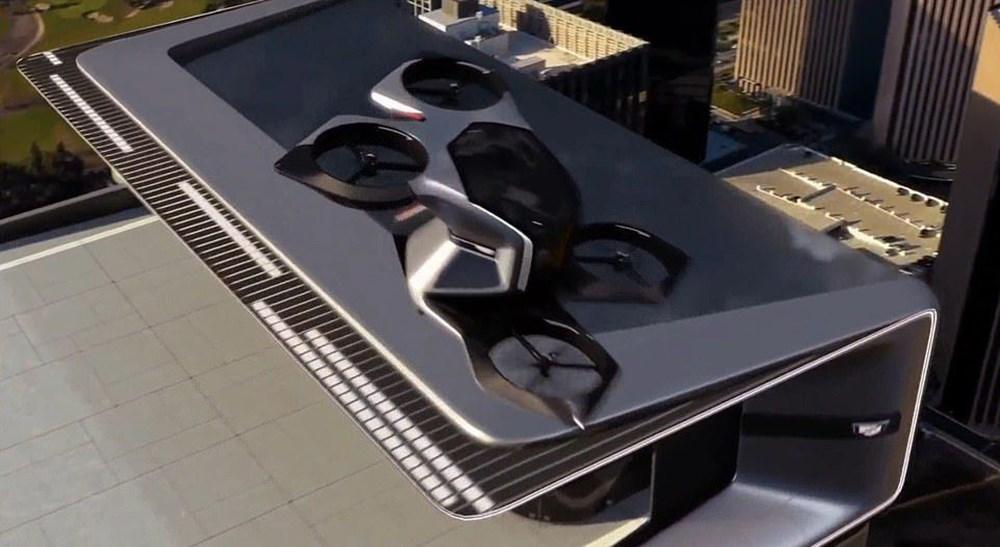 Cadillac sürücüsüz uçan otomobilini tanıttı - 3