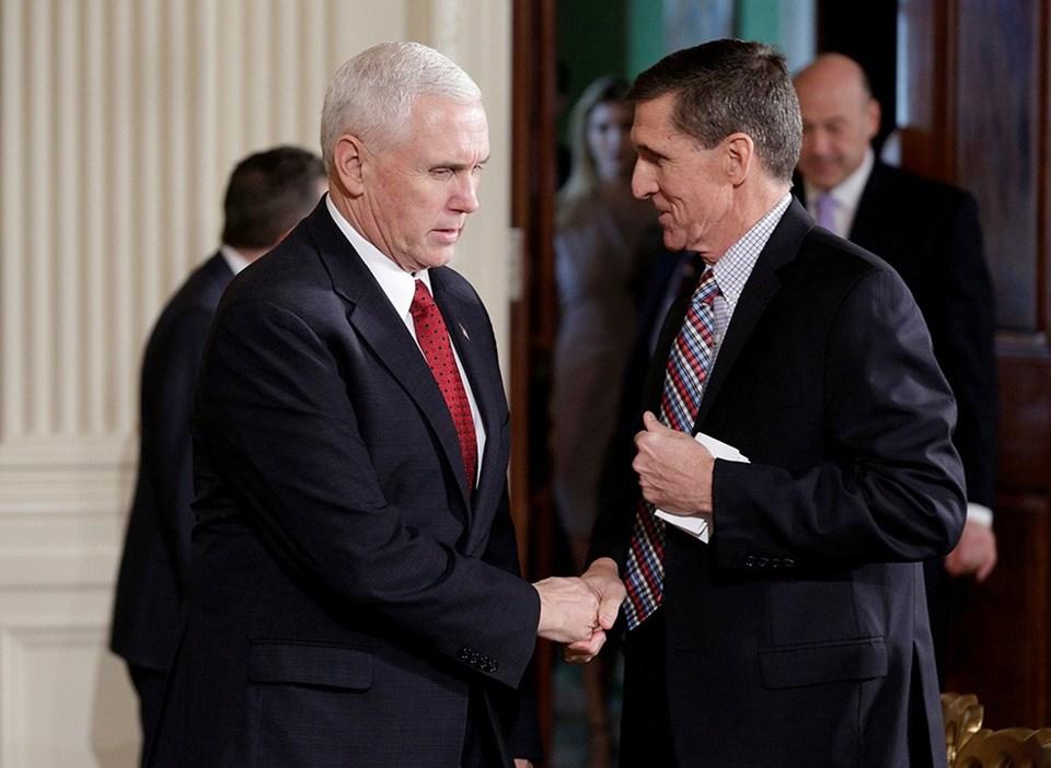 Başkan Yardımcısı Mike Pence ve Michael Flynn