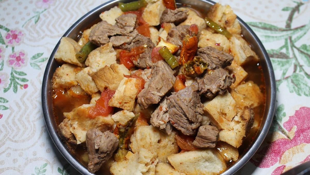 Tavşan öldüren ekmeğiyle yapılan geleneksel bayram lezzeti: Elmadağ Tiridi