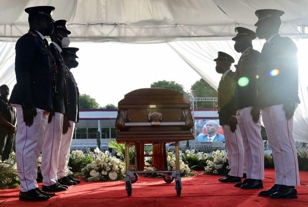 Suikasta uğrayan Haiti Devlet Başkanı'na cenaze töreni düzenlendi - 7