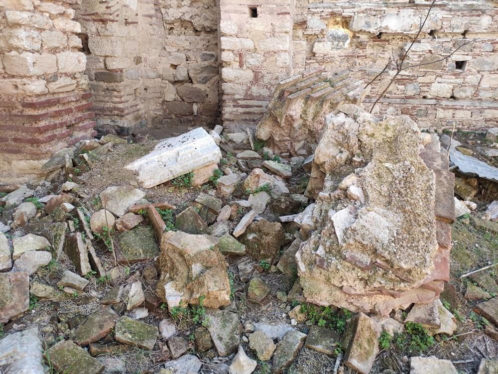 Bursa'da tarihi Aya Yani Kilisesi definecilerin hedefi oldu - 8