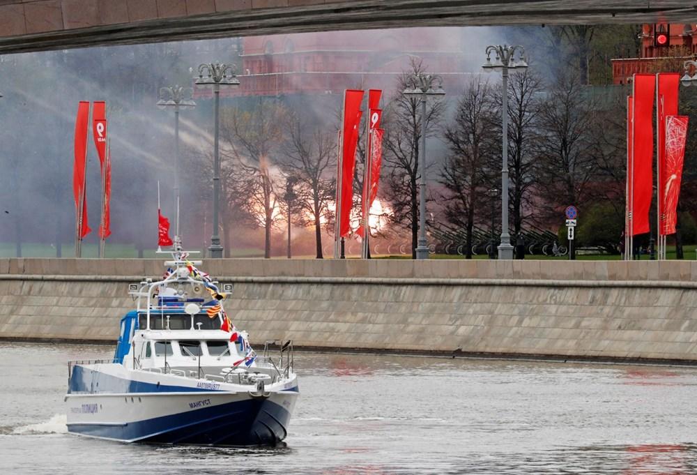 Rusya'da Zafer Günü kutlamaları: Moskova'da askeri geçit töreni - 20