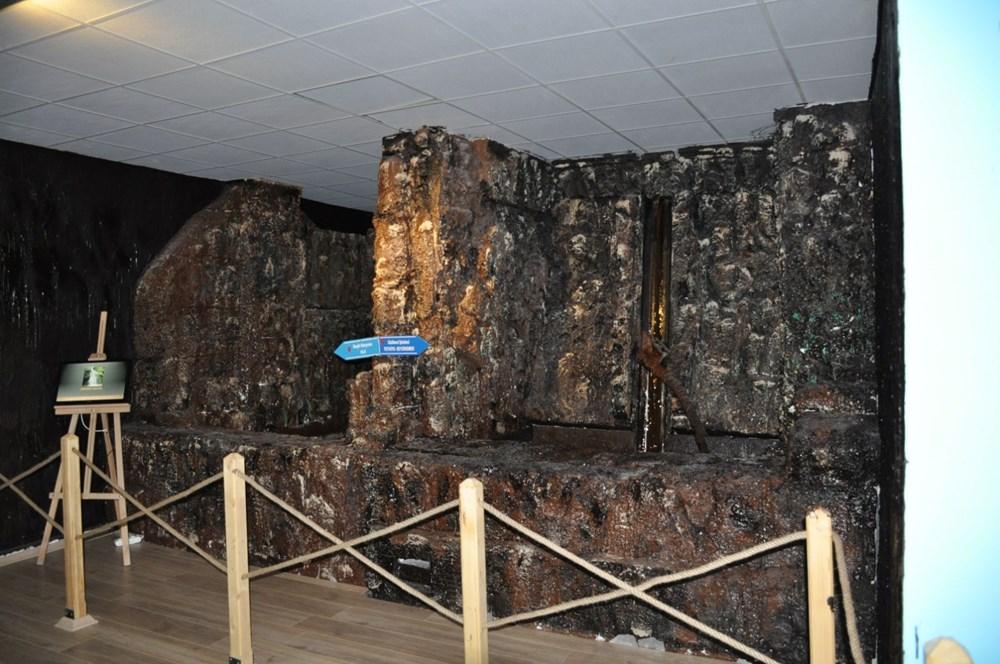 Bodrum'daki Çikolata Müzesi'nde 7 ton çikolata kullanıldı - 6