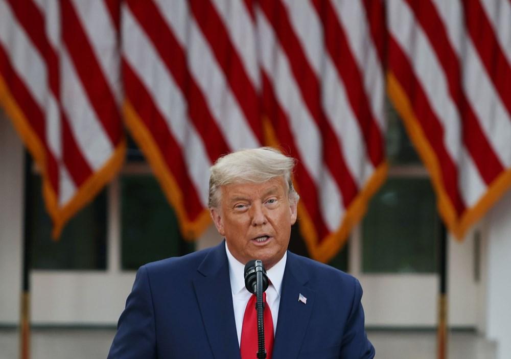 Seçim sonrası konuşan Donald Trump'ın sözlerinden çok saçları dikkat çekti: 10 günde yaşlanmış - 2