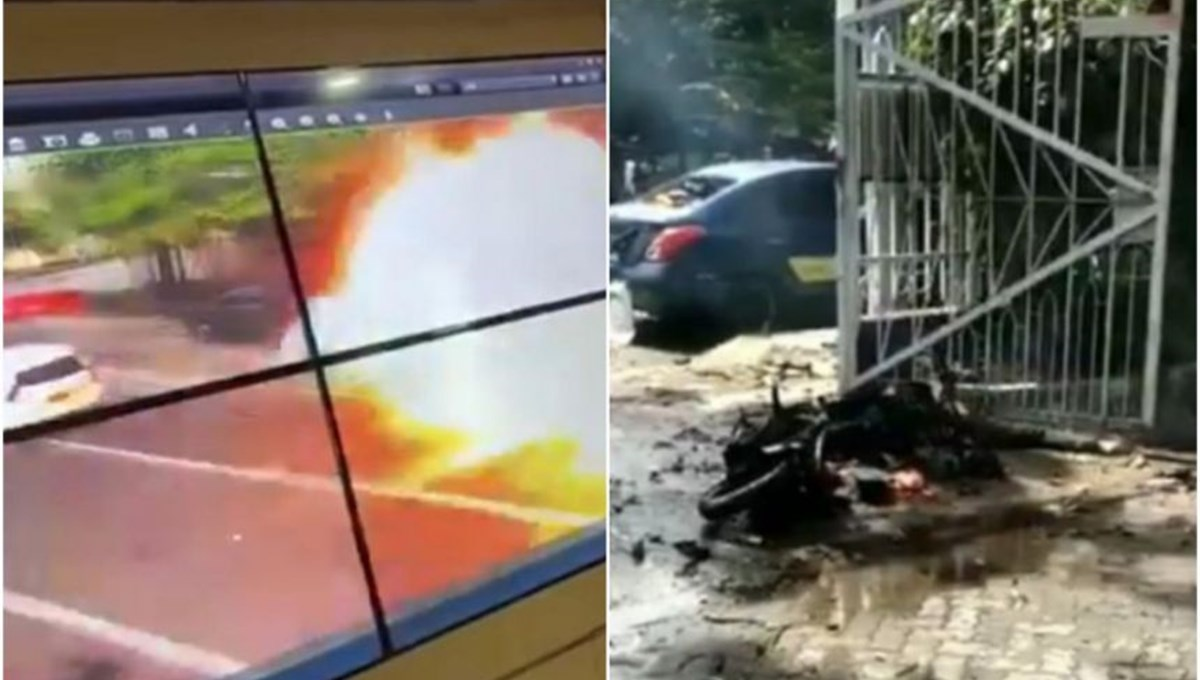 Bomb attack on church in Indonesia