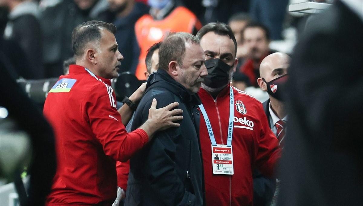 Beşiktaş'ta Sergen Yalçın kırmızı gördü