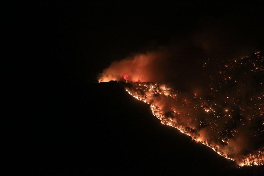Antalya, Adana, Mersin, Aydın, Muğla, Osmaniye, Kayseri ve Manisa'da orman yangınları - 4