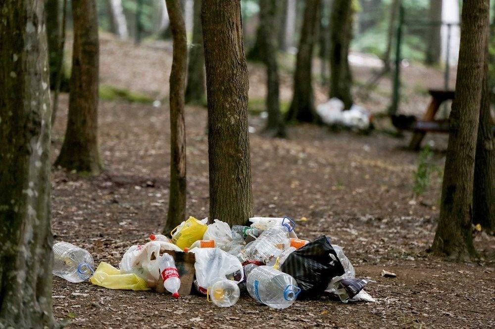 Belgrad Ormanı'nda bitmeyen vandallık - 3