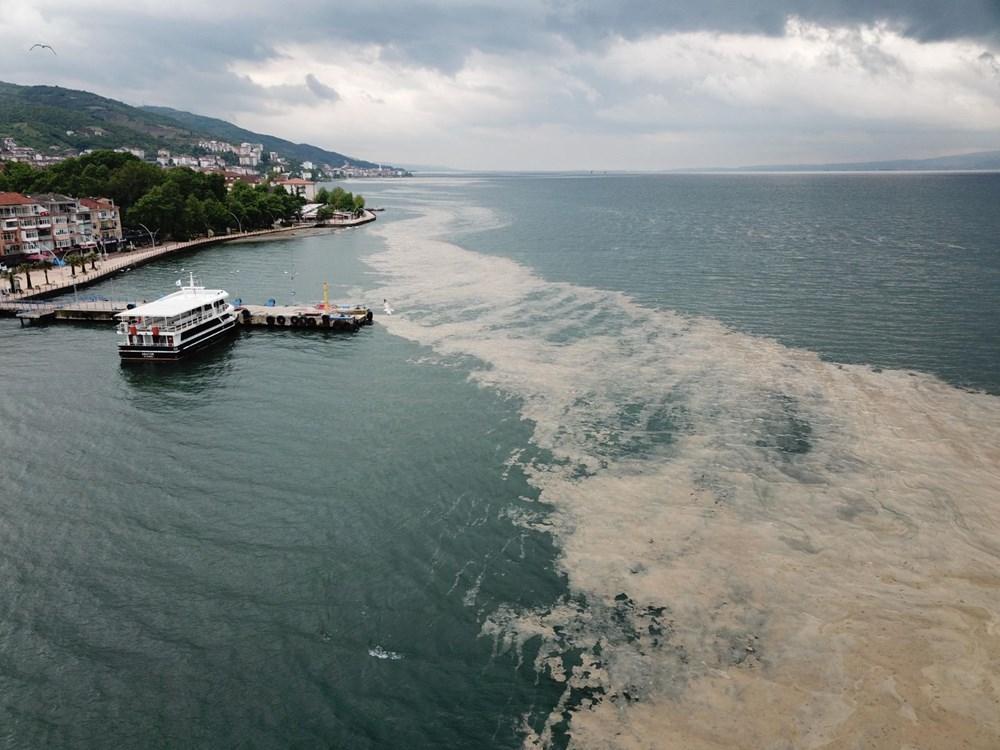 Deniz salyası İzmit Körfezi'ne geri döndü - 8