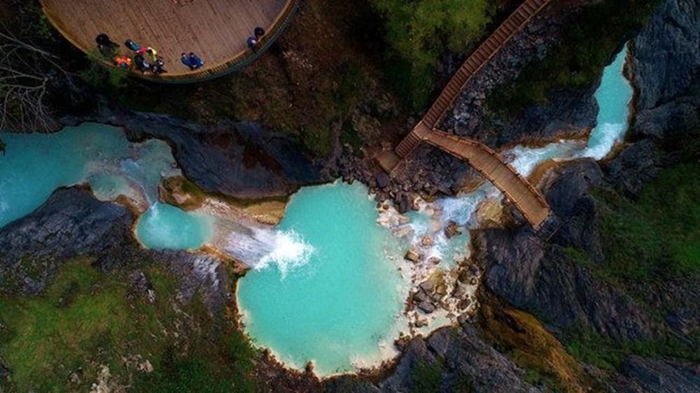 Giresun'un saklı cenneti Mavigöl, pandemide gezginlerin uğrak yeri oldu - 9