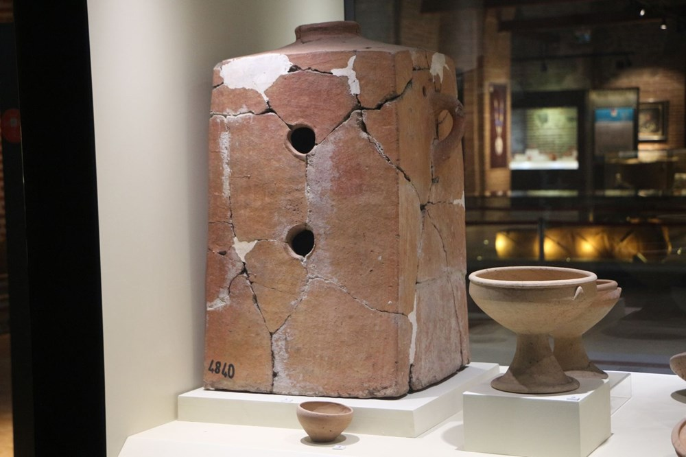 Hitit dönemi sobası 'maltız' müzede - 4