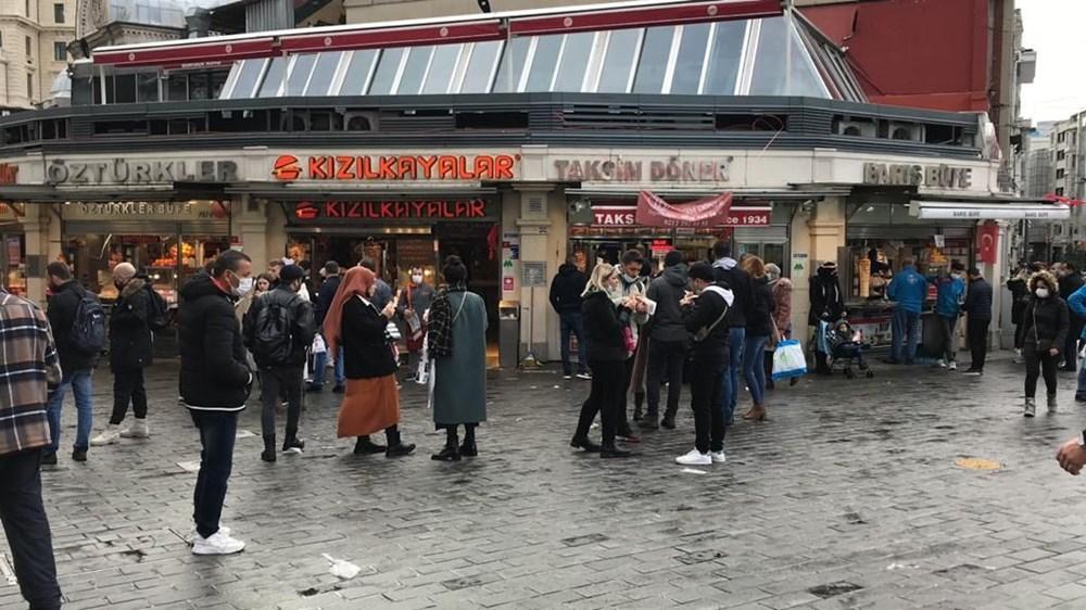 Yeni dönem başladı: Restoranların önü dolup taştı - 5