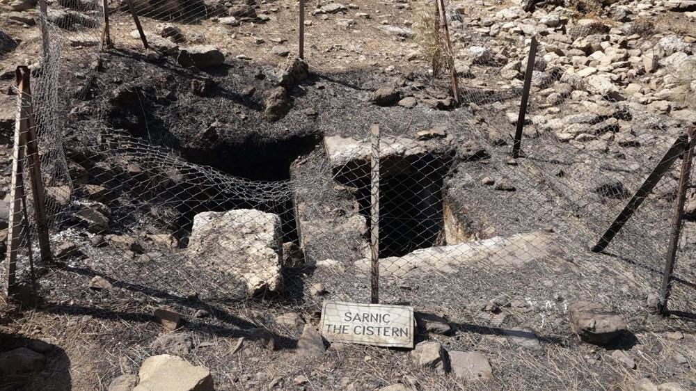 Yangın Lyrbe'yi de vurdu: Antik kent küle döndü - 7