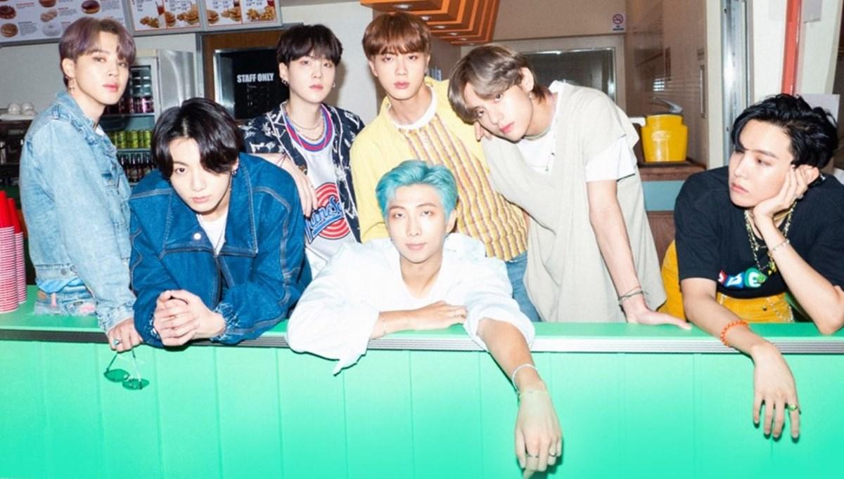 BTS'ten Dynamite klibinin kamera arkası