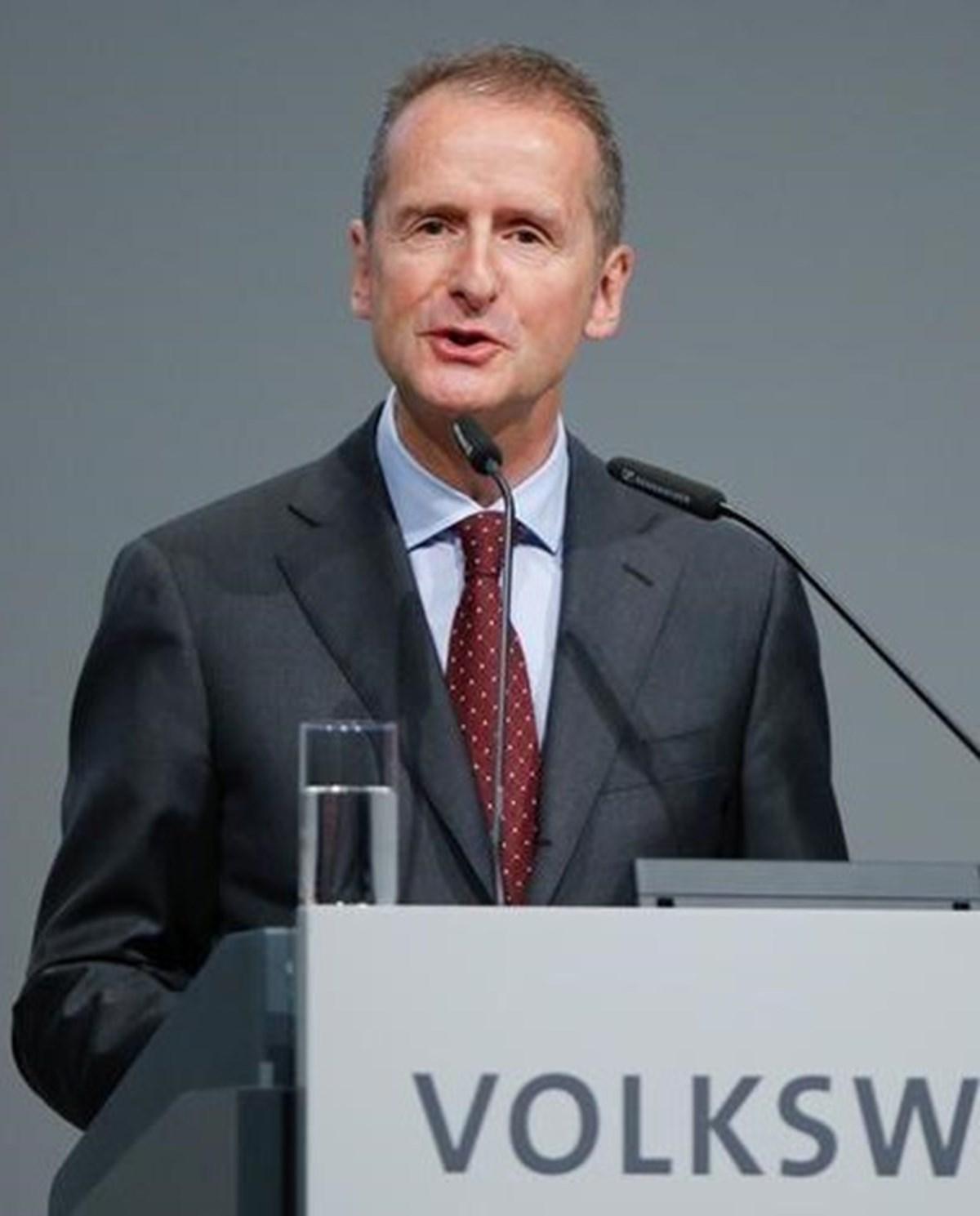 Volkswagen CEO