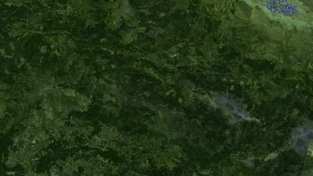 Orman yangınları uydudan böyle görüntülendi - 7