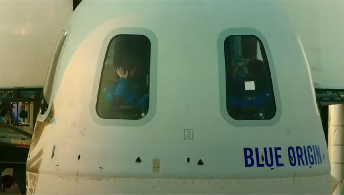 Uzaya tarihi uçuş: Milyarder iş insanı Bezos'un uzay yolculuğu