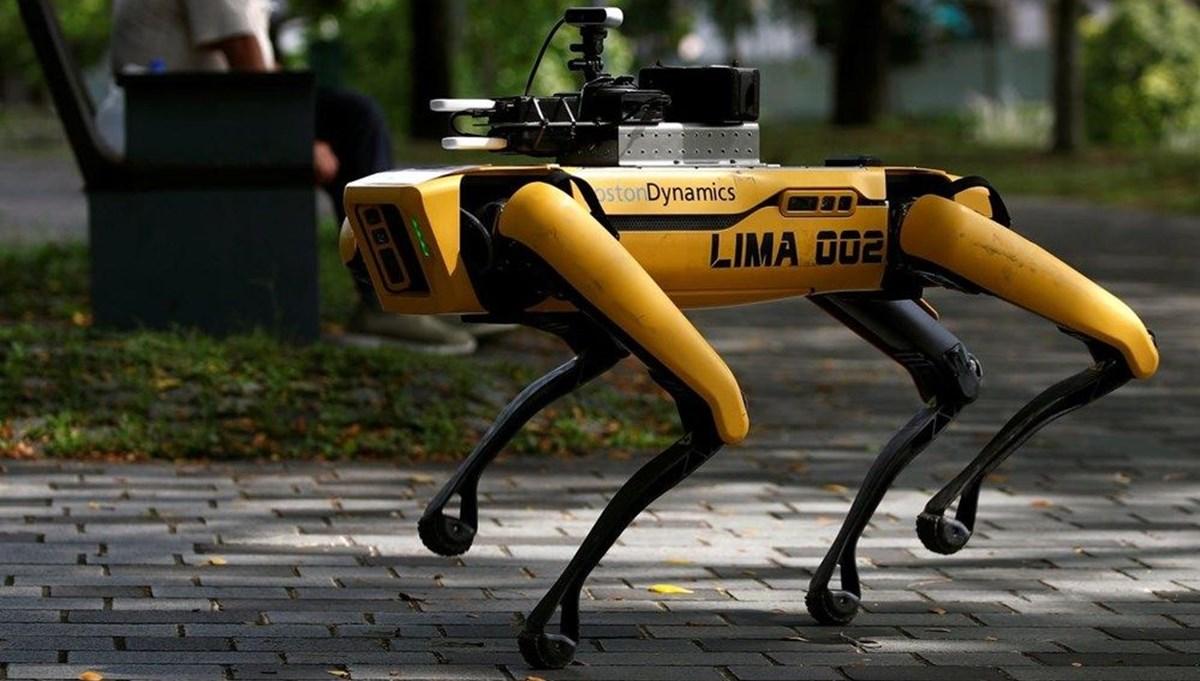 New York polisi 'robot köpek'i test ediyor (2021'de göreve başlayabilir)