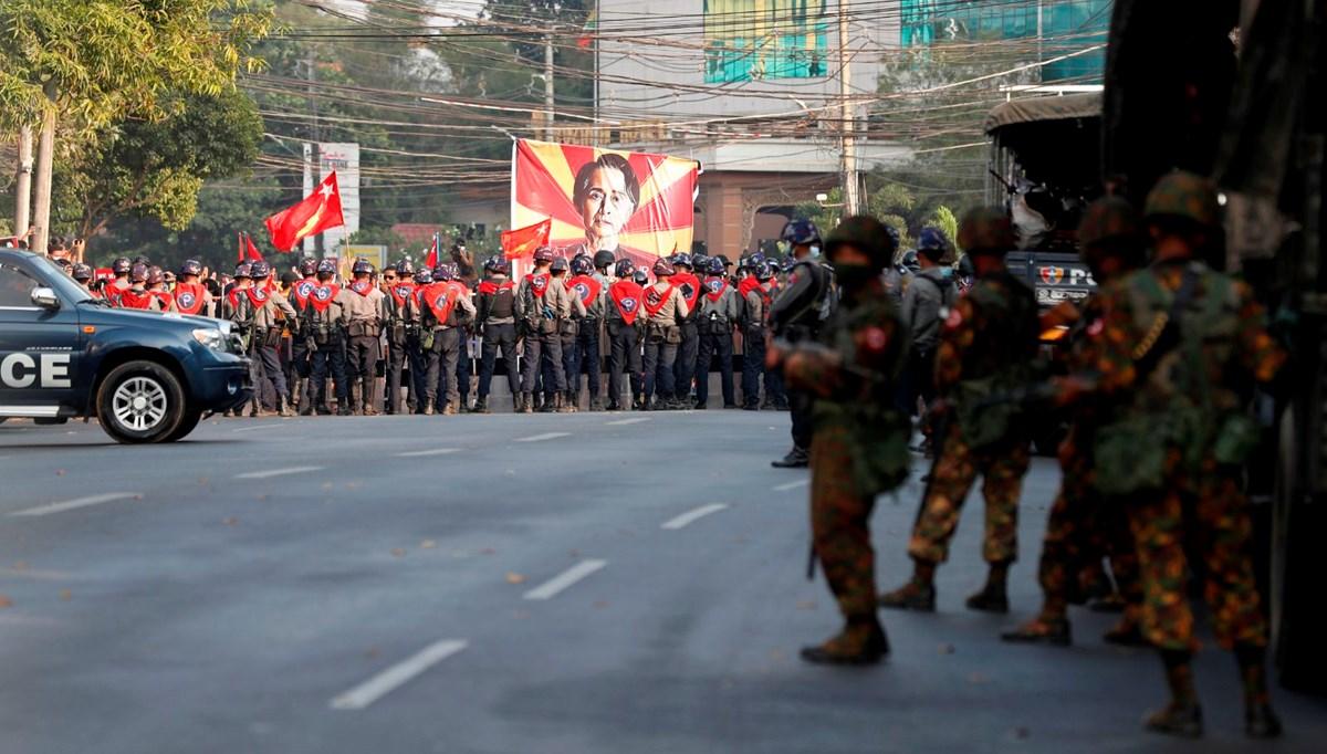 BM: Myanmar'daki darbe karşıtı protestolara müdahalede en az 18 kişi hayatını kaybetti