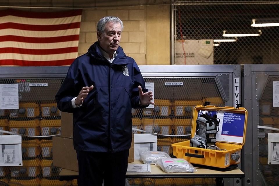 New York Belediye Başkanı Bill de Blasio