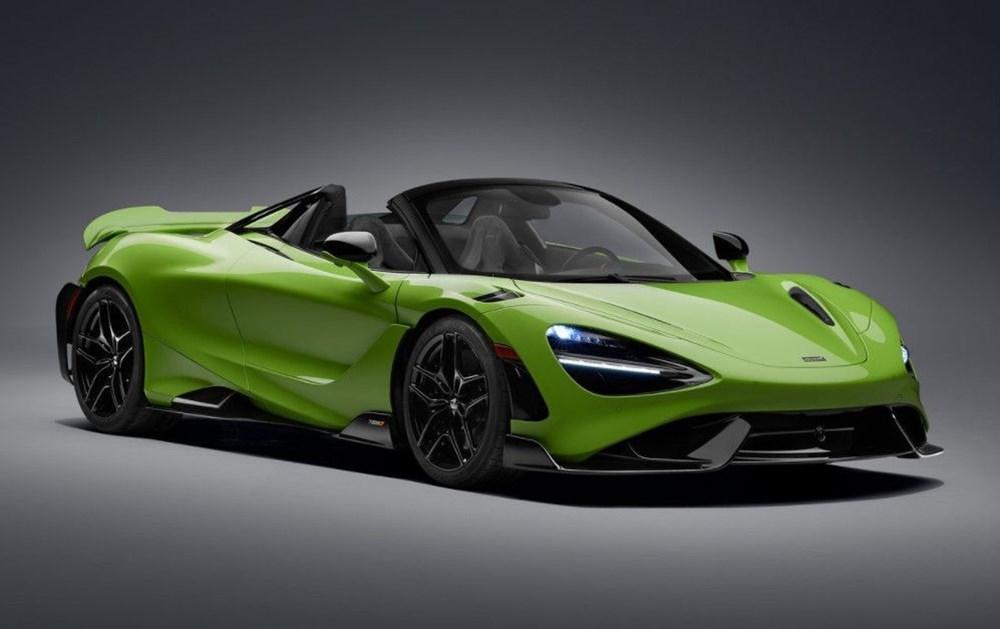 McLaren tarihinin en hızlı üstü açık modeli tanıtıldı:  765LT Spider - 16
