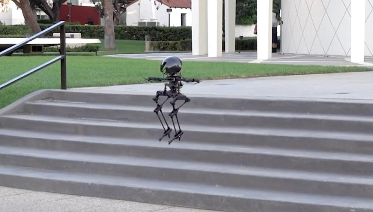 Uçan robot geliştirildi: Leo