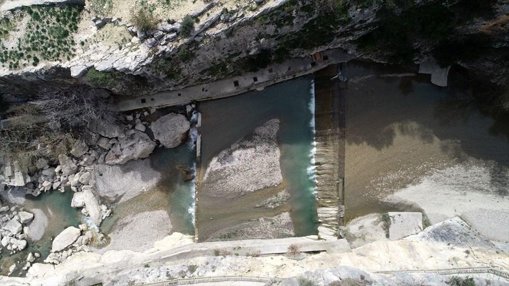 Adana'da mavi ile yeşili buluşturan Kapıkaya Kanyonu doğaseverleri bekliyor - 4