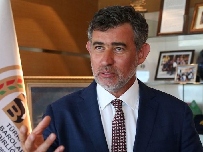 TBB Başkanı Feyzioğlu: Ankara Barosu'nun açıklamasını tasvip etmemiz mümkün değil