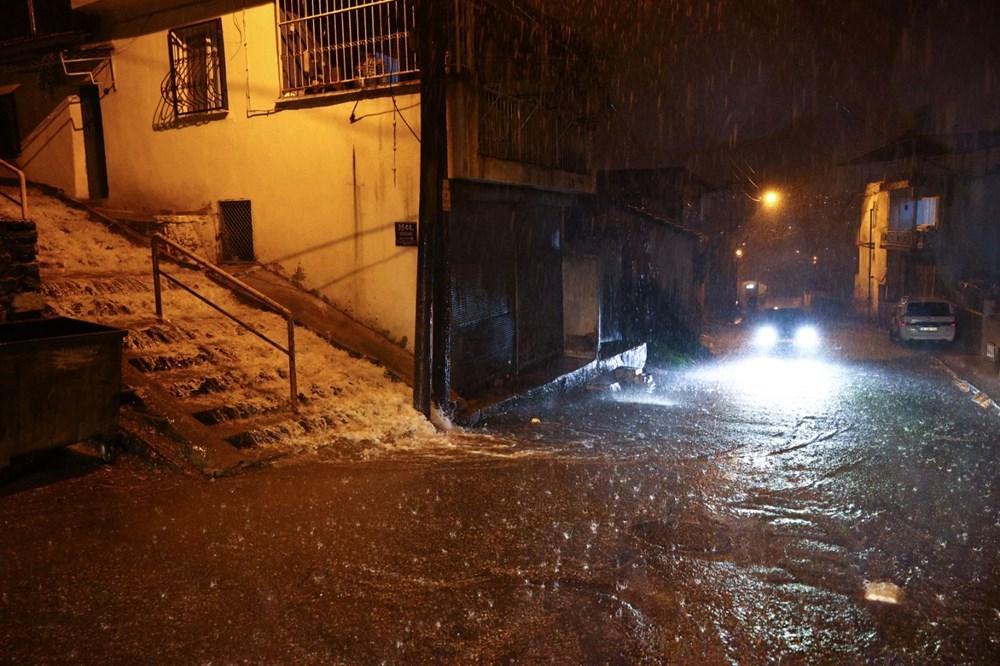 İzmir'de sağanak etkili oldu - 13