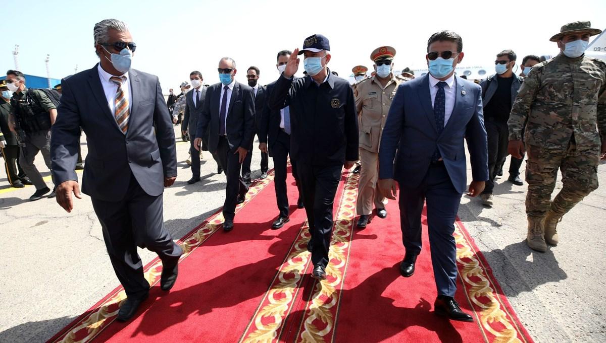 Milli Savunma Bakanı Akar ve Genelkurmay Başkanı Güler Libya'da