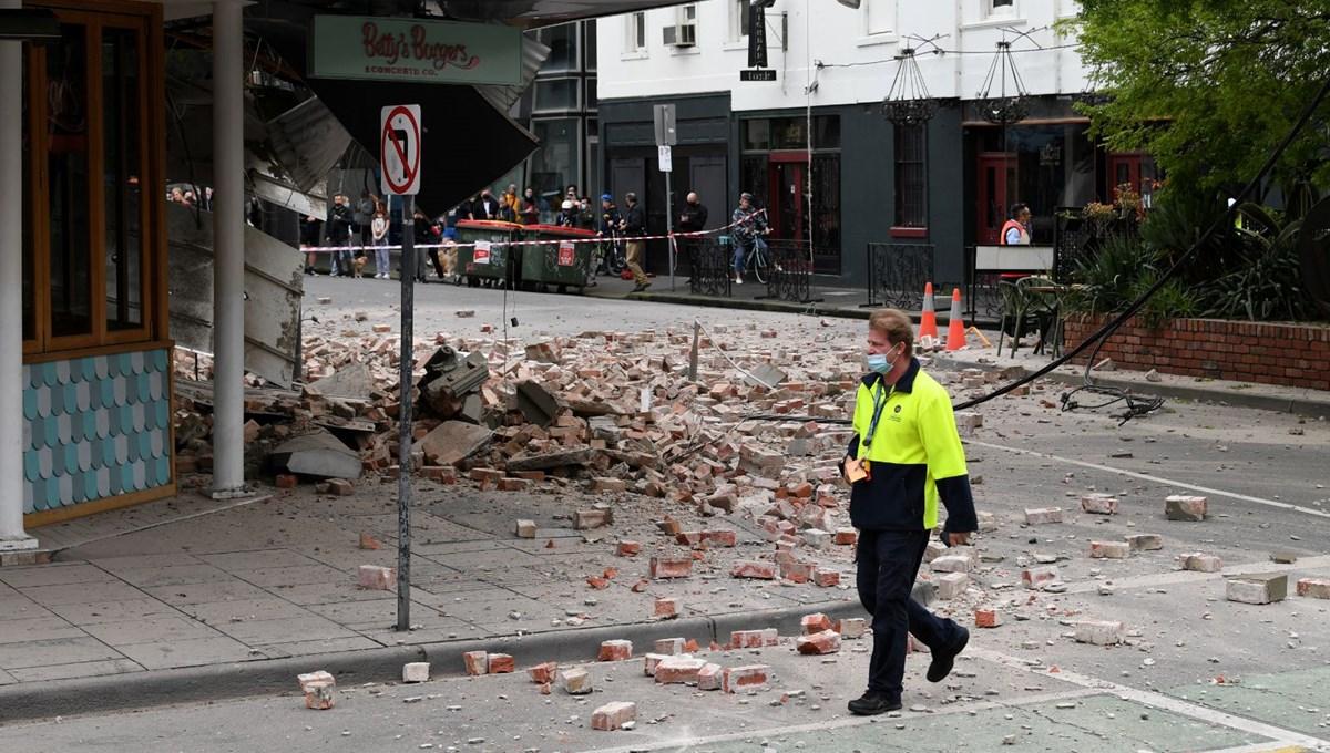 Avustralya'da 5,8 büyüklüğünde deprem