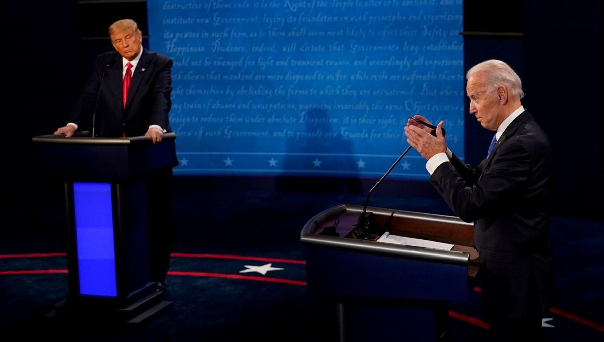 Trump'tan Biden'a: Putin'le görüşmende uyuyakalma