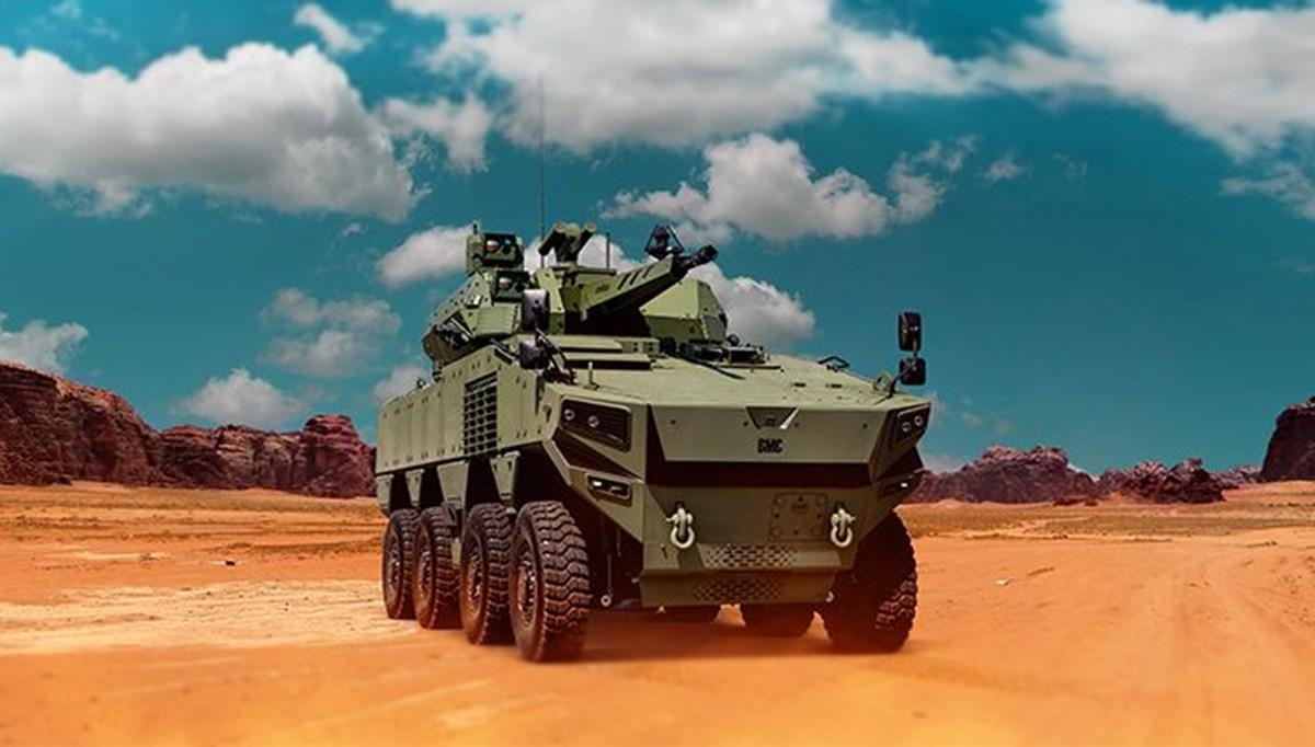 Türkiye'nin yeni zırhlı aracı Altuğ 8x8 göreve hazırlanıyor (Türkiye'nin yeni nesil yerli silahları)