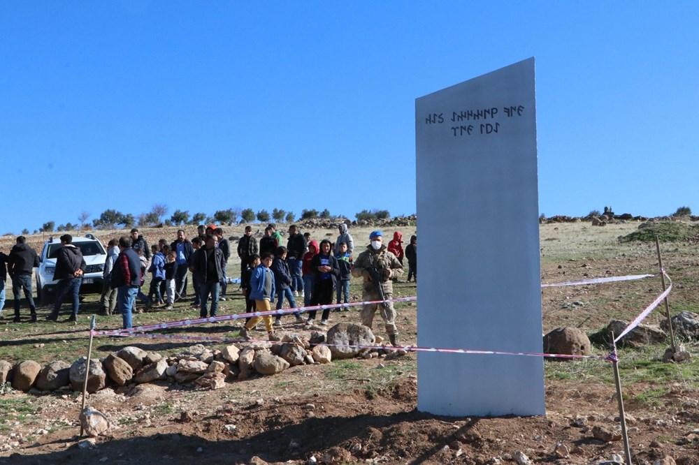 Göbeklitepe'deki monolit nöbeti devam ediyor - 11