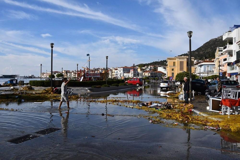 Depremin vurduğu Yunan adası Sisam'da son durum - 6
