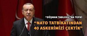 """""""NATO tatbikatından 40 askeri çektik"""""""