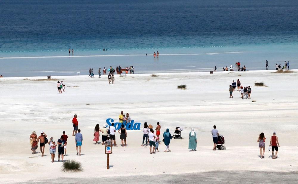 Bakan duyurdu: Salda'nın 'Beyaz Adalar' bölgesinde göle girilmesi yasaklanabilir - 3