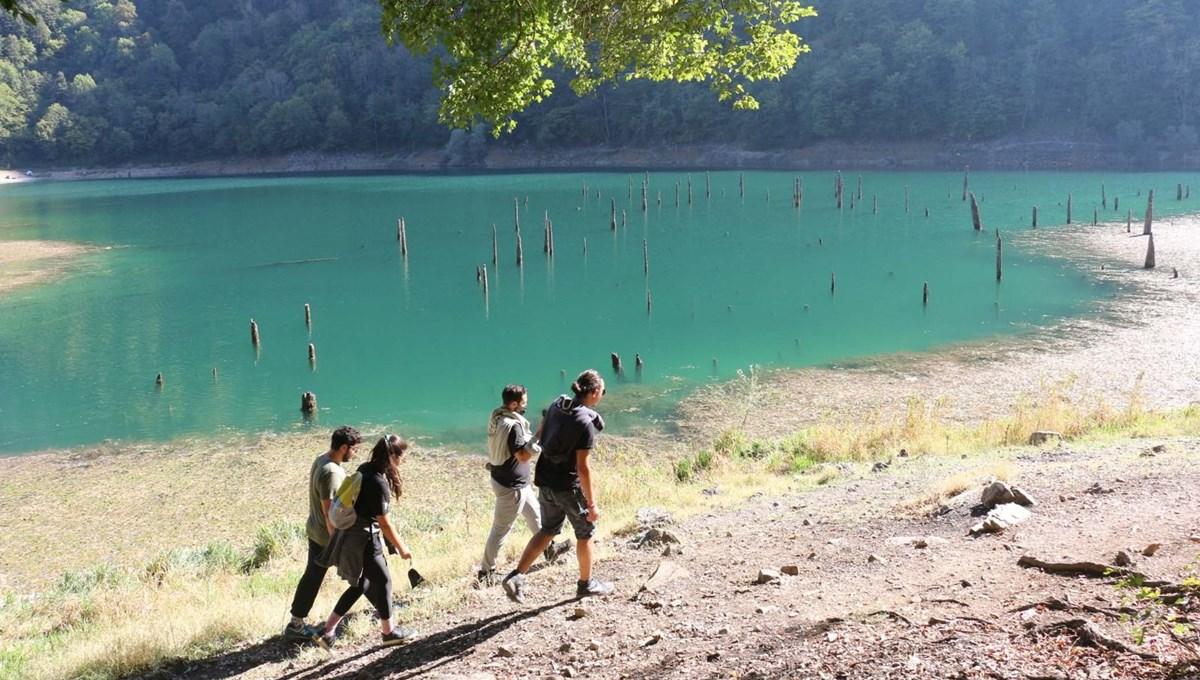 Görenleri kendine hayran bırakıyor: Bolu Sülüklü Göl