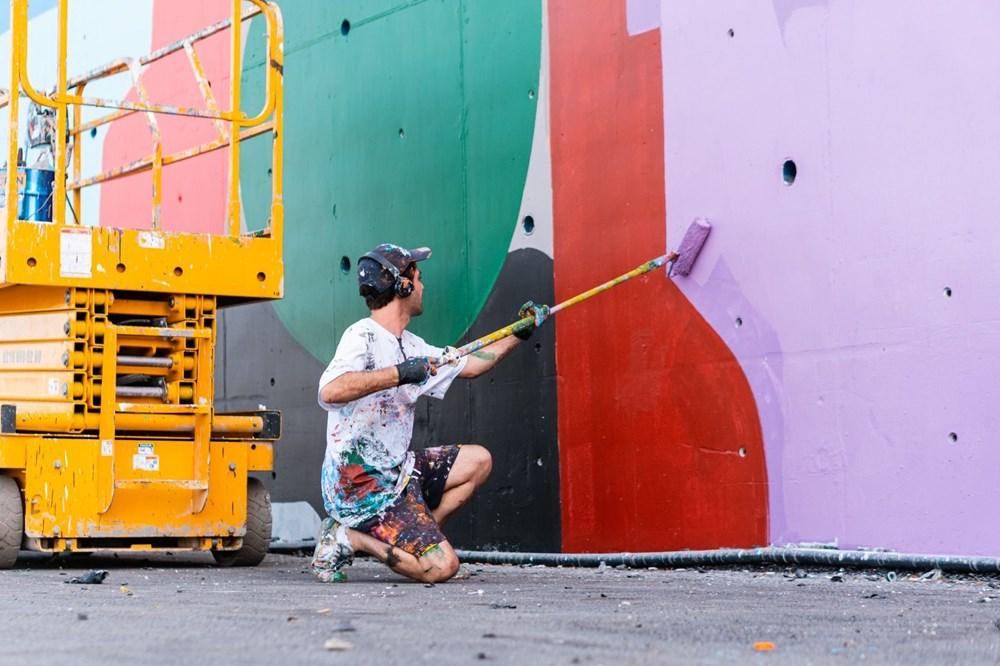 İstanbul'un duvarları renkleniyor - 2