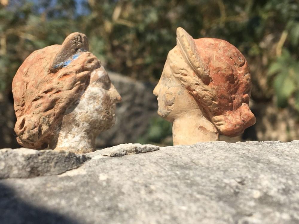 Myra Antik Kenti'nde hepsi bir arada 50'den fazla heykelcik bulundu - 2