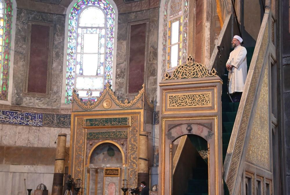 Ayasofya-i Kebir Camii Şerifi ibadete açıldı (Ayasofya'da 86 yıl sonra ilk namaz) - 17