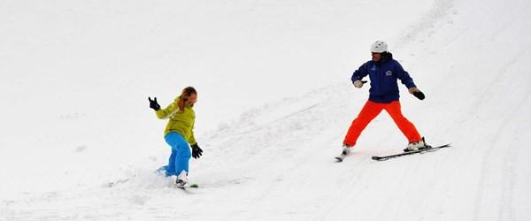 Uludağ'da Nisan ayında kayak pistleri yeniden açıldı