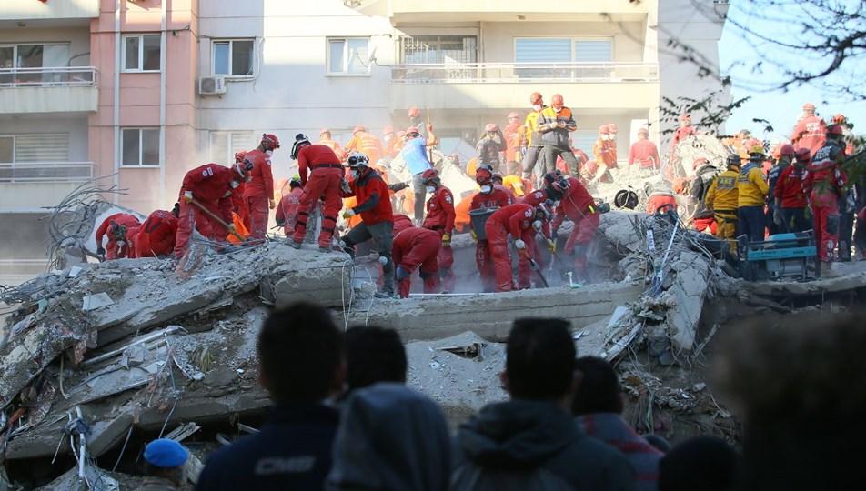 İzmir Seferihisar açıklarında 6,6 büyüklüğünde deprem: 92 can kaybı,994 yaralı