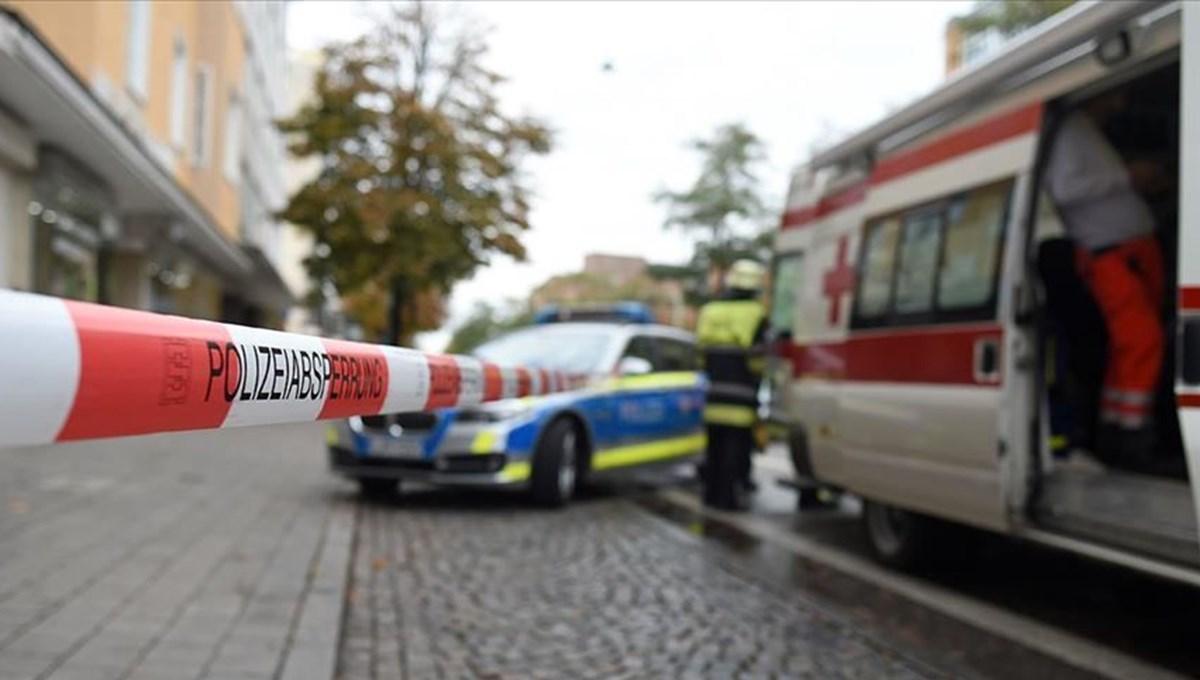 SON DAKİKA:Almanya'da silahlı saldırı