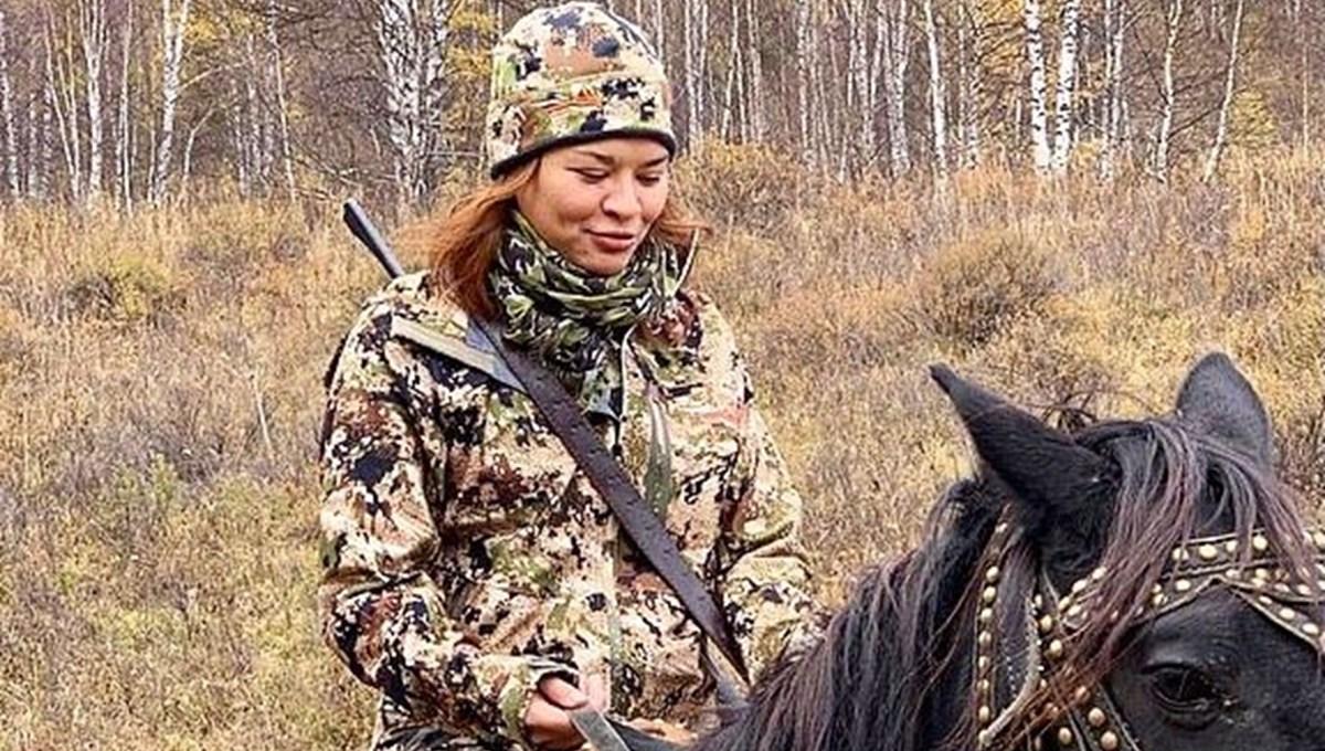 Rusya Savunma Bakanı Şoygu ve kızı Kseniya Şoygu'nun Sibirya tatili