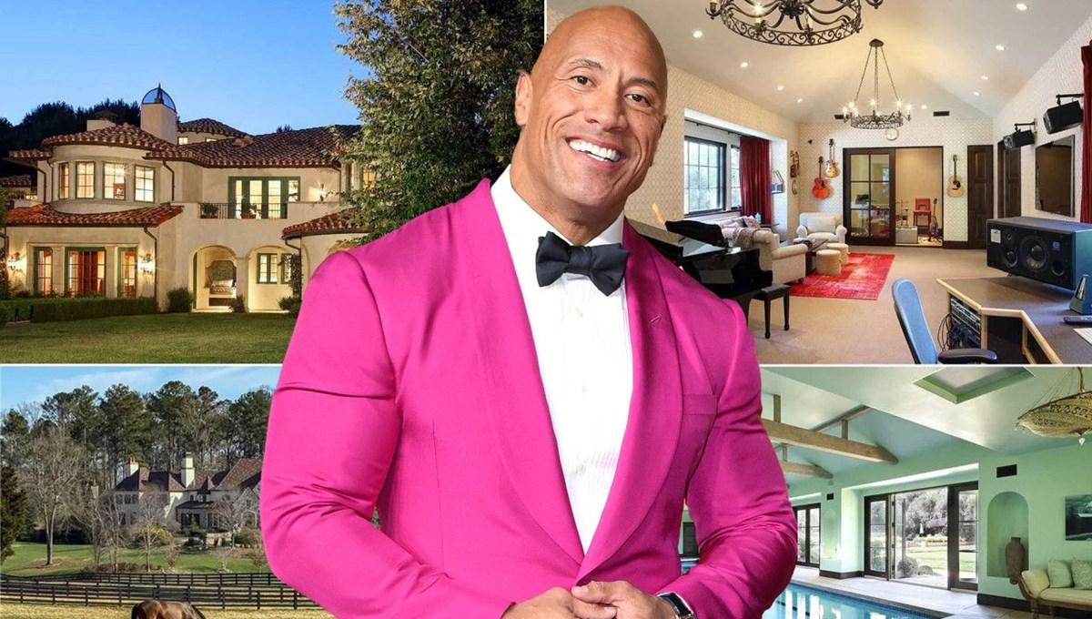 Dwayne Johnson'ın 27,8 milyon dolarlık malikanesi