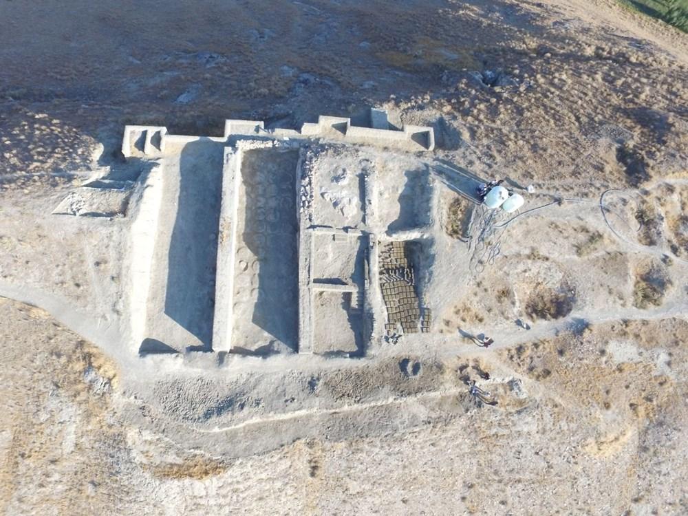 Urartular'a ait 2 bin 750 yıllık tahıl ambarları koruma altına alınıyor - 5