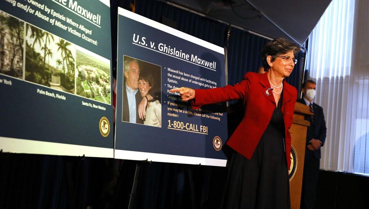 FBI'ın Ghislaine Maxwell operasyonundan ayrıntılar